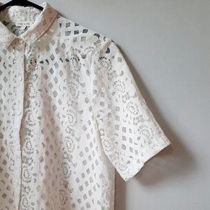 🍒 2/$20 River Island boxy shirt